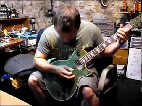 DIY Les Paul Guitar Kit From Ebay Demo/Test..
