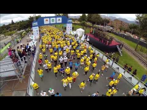MakingOf - Media Maraton de Bogota 2013