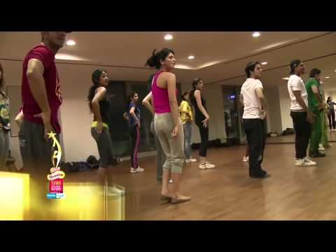 Shruti Haasan's Dance Rehearsals For SIIMA 2013