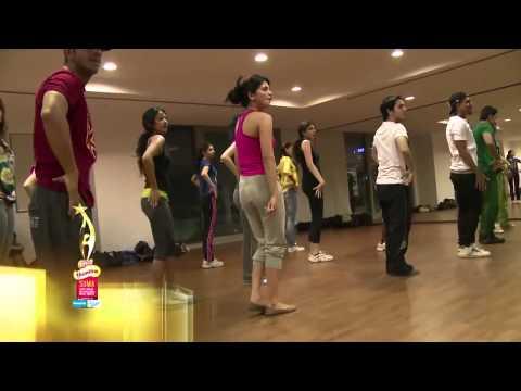 Shruti Haasan's Dance Rehearsals For SIIMA 2013