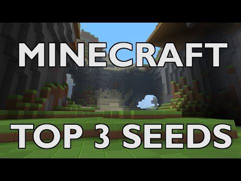Minecraft Xbox 360 Edition - Top 3 Seeds!!