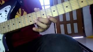 mawarku (funky Kopral) solo guitar tutorial