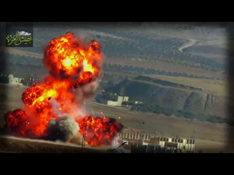 Compilation: FSA force destroying regime weapons & assets across Syria