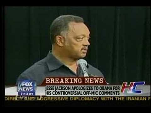 "Jesse Jackson on Obama:  ""I Wanna Cut His Nuts Off"""