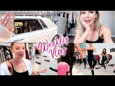 London life, come shopping with me & launch parties! // BLAIR WEEKLY
