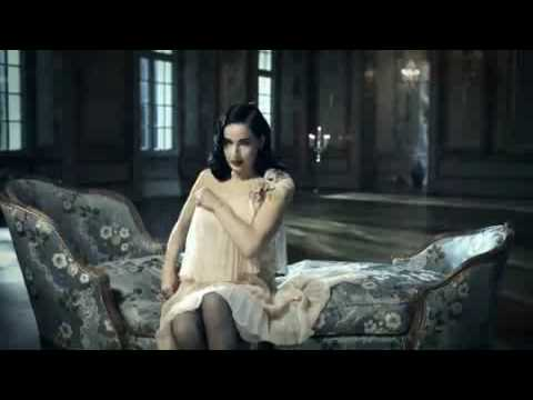 dita von teese perrier mansion Video