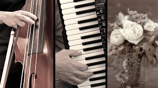 KLEZMER MUSIC - Yiddisch Mazurka - The Brides Waltz - violone accordion music Akkordeonmusik