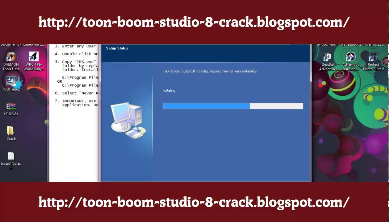 Toon Boom Studio 8.0 crack