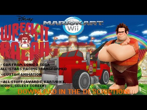 [MKW Hack] Wreck-It Ralph in Mario Kart Wii