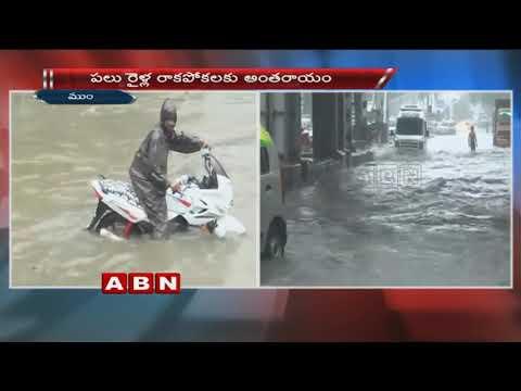 Heavy Rains bring Mumbai to a halt, people stuck in massive Traffic Snarls