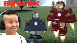 ROBLOX IRON MAN Simulator Gameplay With CKN Gaming
