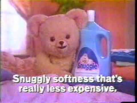 Snuggle fabric softener commercial