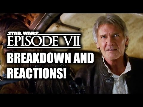 Star Wars Episode VII: The Force Awakens Official Trailer 2 Reactions & Review (SW Celebration)