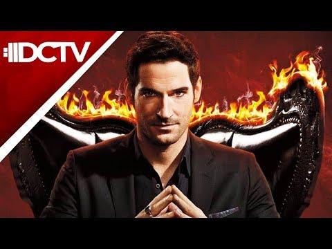 #DCTV Finales! Arrow, Gotham & Lucifer w/ Tom Ellis