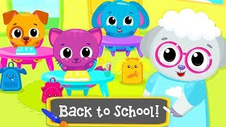 Cute & Tiny Preschool - Baby Learn Colors, Numbers And Sizes - Fun Educational Kids Puzzles Games