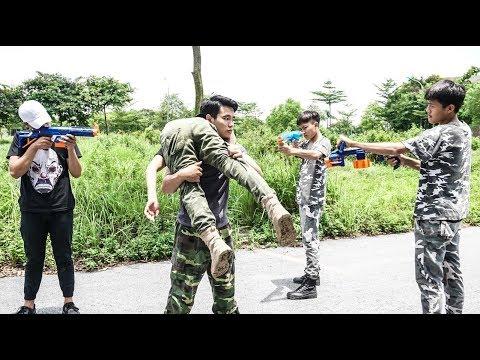 Hihahe Nerf War: SWAT & ELITE WARRIORS Nerf Guns Competitor Rescue Hacker Nerf Movies