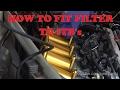 Installing ITB filter 4AGE Blacktop trumpets