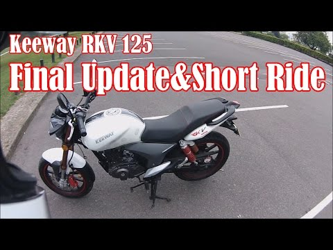 3. Keeway RKV 125 Update + Short Ride