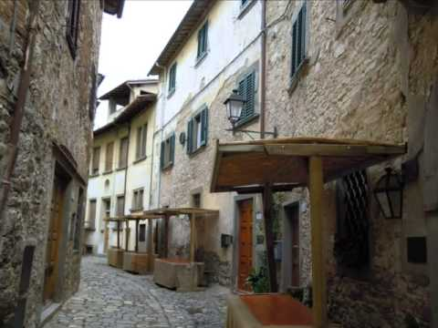 Bike ride to Montefioralle in Chianti Tuscany Italy