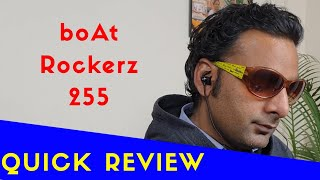 boAt Rockerz 255 Sports Bluetooth Wireless Earphone - Unboxing & Review !