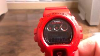 GW6900RD-4 Men In Burning Red - Casio G-Shock Watch Review - Rare & Limited Edition