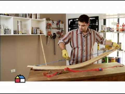 C mo hacer un balanc n curvo youtube for Como construir un kiosco en madera