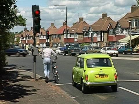 Mr Bean - Traffic Lights -- An der Ampel