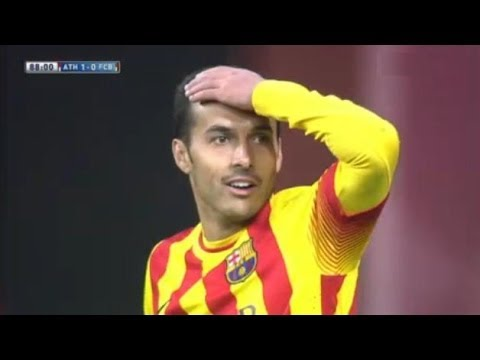 Athletic Bilbao vs Barcelona 1-0 All Goals & Highlights 01.12.2013 Atlethic 1x0 Barcelona