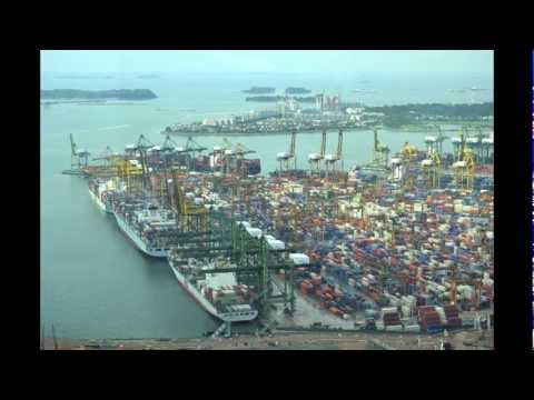Port of Singapore 5-6-12 (time lapse)