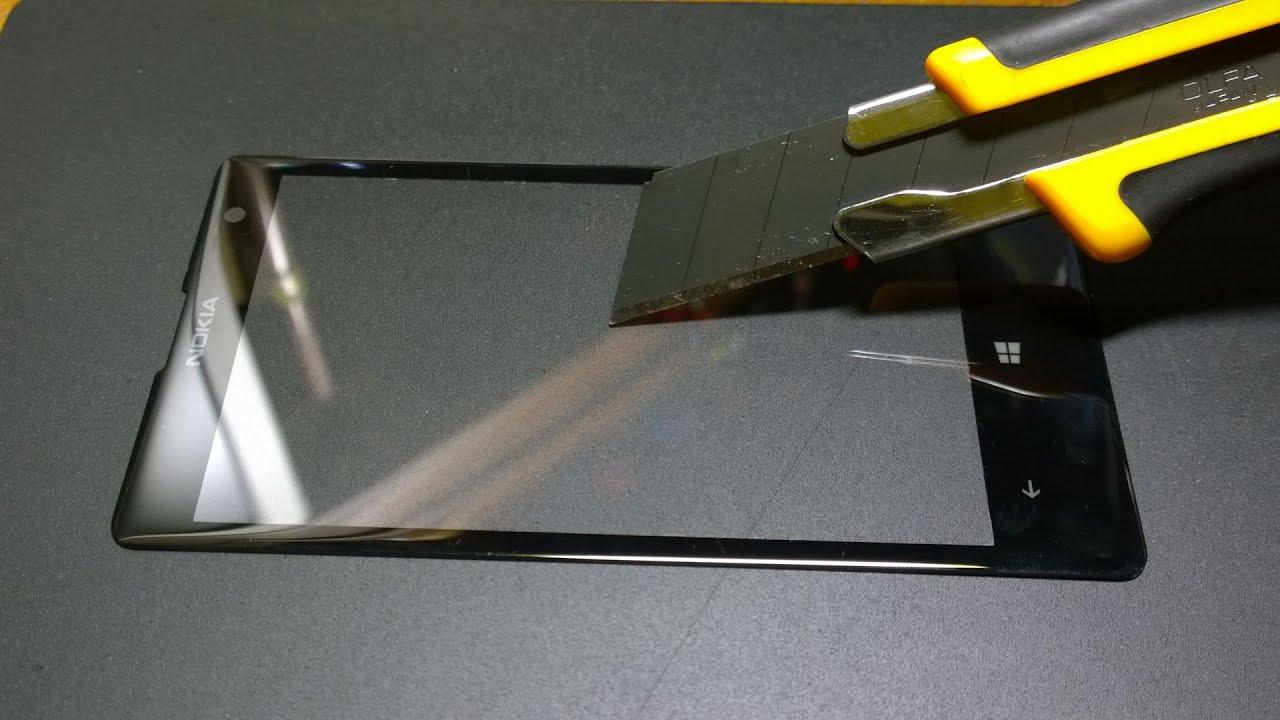 Замена стекла nokia 1020 своими руками