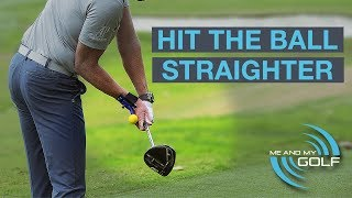 SQUARE YOUR CLUB FACE FOR STRAIGHTER GOLF SHOTS