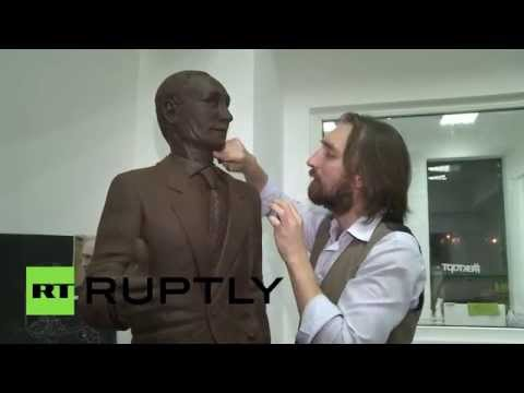Life-size chocolate Putin to be showcased in St.Pete