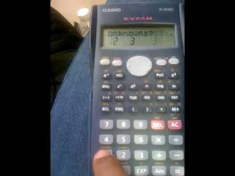 Hackear calculadora Casio fx-82MS