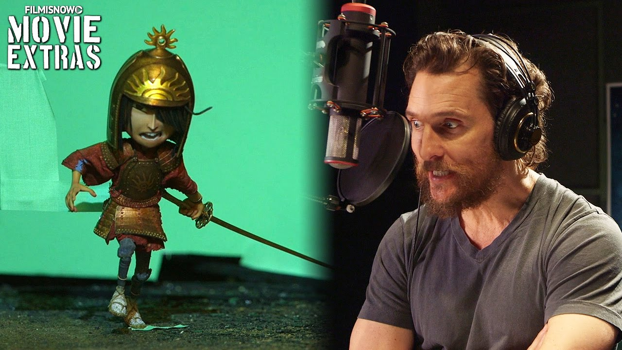 Go Behind the Scenes of Kubo and the Two Strings | stop-motion and voice production