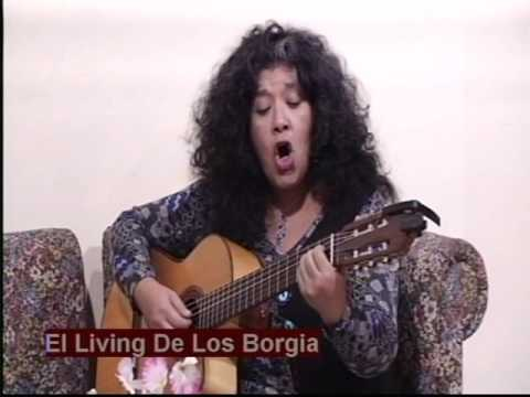 SONIA ABAN en EL LIVING DE LOS BORGIA