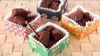 How To Make Sake Nama Choco (chocolate Truffles) For Valentine's Day In Origami Box 酒生チョコ