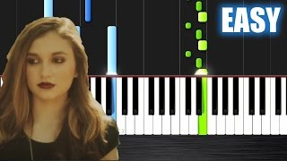 The Chainsmokers Don t Let Me Down ft Daya EASY Piano Tutorial by PlutaX