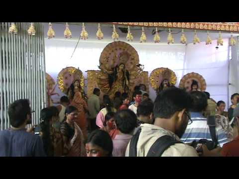 Durga Puja -2011, Jagannath Hall, Dhaka University video