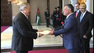 King Receives Newly-Appointed Foreign Envoys
