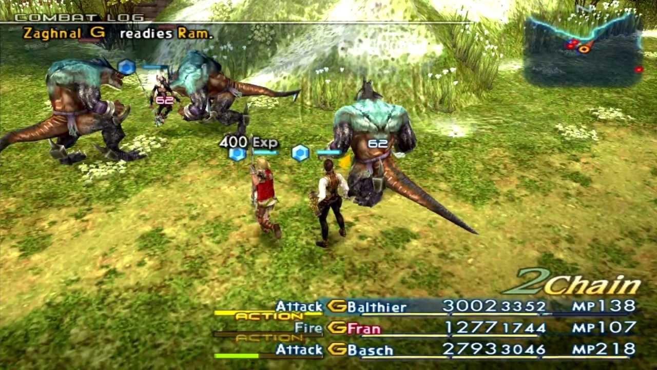 Final Fantasy XII International Zodiac Job System [English ...