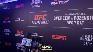 UFC on ESPN 7 Post-Fight Press Conference Live Stream - MMA Fighting