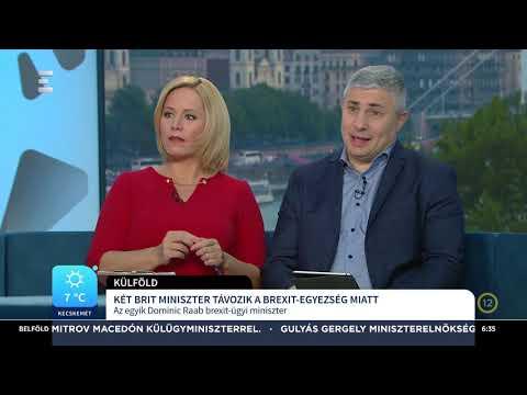 Megszületett a döntés a Brexit feltételeiről - Szabó Dávid - ECHO TV