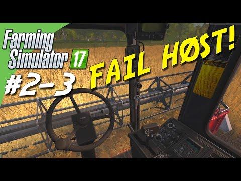 FAIL HØST! - Farming Simulator 2017 dansk Ep 3 (SÆSON 2 Sosnovka)