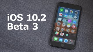 Everything New in iOS 10.2 Beta 3!