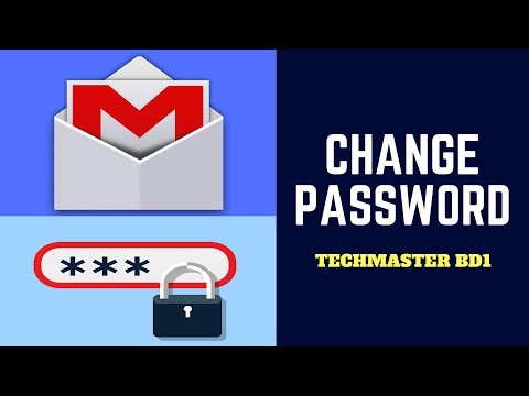 How to Change Gmail Account Password on Computer by Tech Master BD1