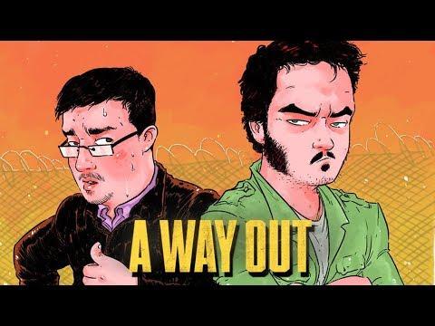 Мэддисон и Кейк играют в A Way Out #1- Лучший Побег в Истории