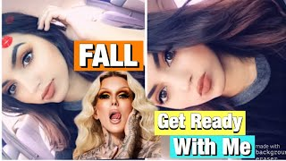 FULL FACE OF JEFFREE STAR APPROVED MAKEUP | EASY FALL GRWM