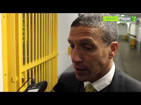 Norwich City 1-1 Swansea: Chris Hughton Reacts