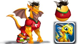 How to Get Ranoldo Dragon! Dragon City Mobile! (World Cup Dragon #8 ...
