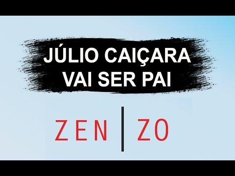 Júlio Caiçara recebe a notícia que seria PAI